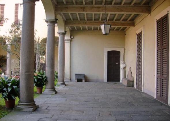 villa rescalli villoresi e fondazione dario mellone cortile labrouge