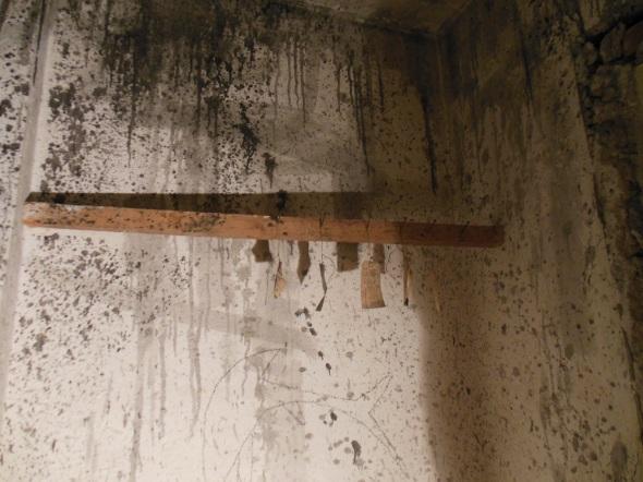 lam l'arte della memoria Lugano villa Ambrosetti basement dettaglio