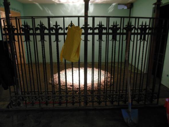 lam l'arte della memoria Lugano villa Ambrosetti basement