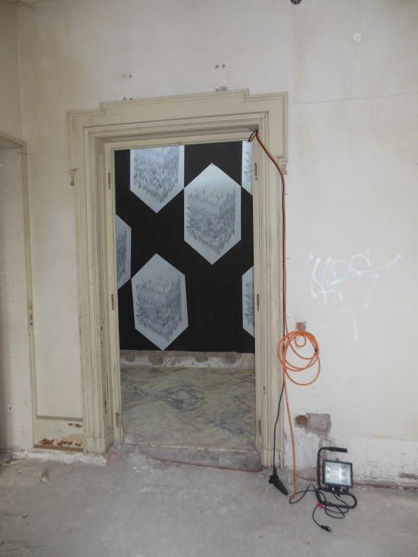 lam l'arte della memoria Lugano villa Ambrosetti corridoio