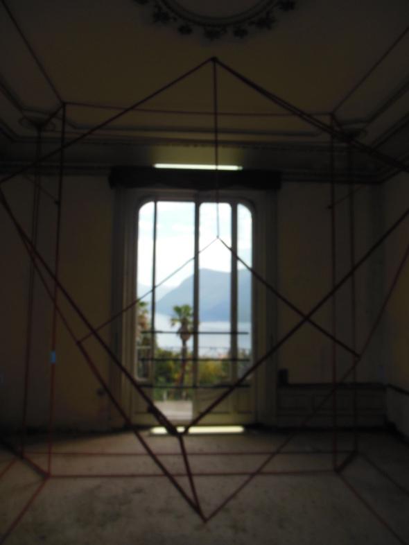 lam l'arte della memoria Lugano villa Ambrosetti lex from window