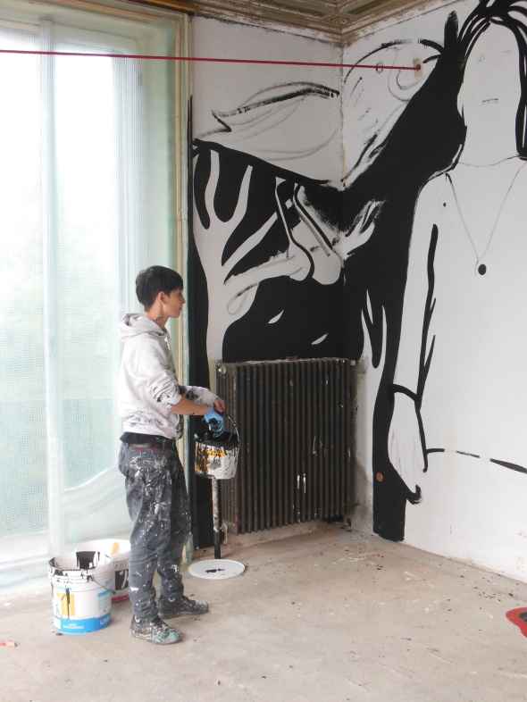 lam l'arte della memoria Lugano villa Ambrosetti mp5 work in progress