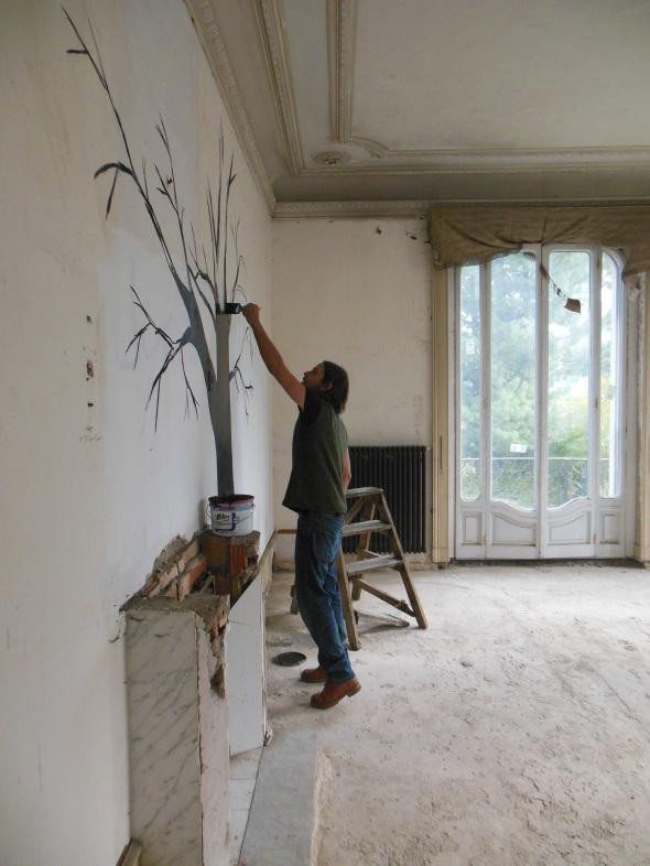 lam l'arte della memoria Lugano villa Ambrosetti nicola magrin work in progress