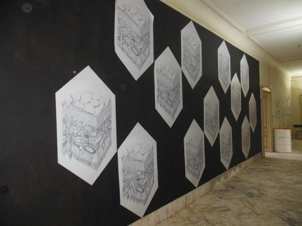 lam l'arte della memoria Lugano villa Ambrosetti pattern