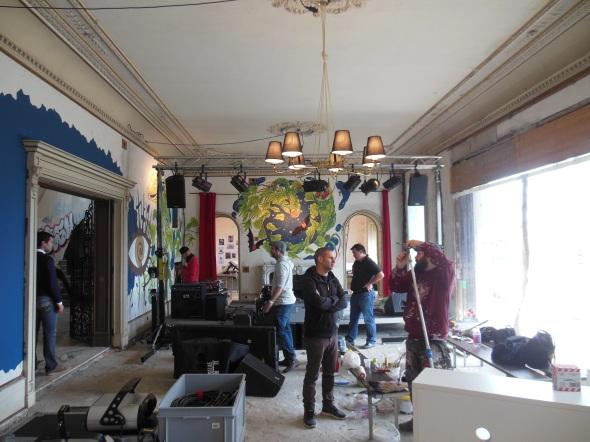 lam l'arte della memoria Lugano villa Ambrosetti salone