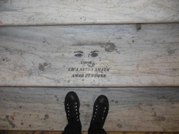 lam l'arte della memoria Lugano villa Ambrosetti scale