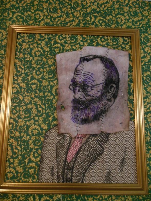 lam l'arte della memoria Lugano villa Ambrosetti wall paper