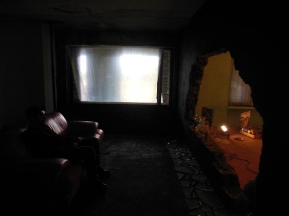 lam l'arte della memoria Lugano villa Ambrosetti watching tv