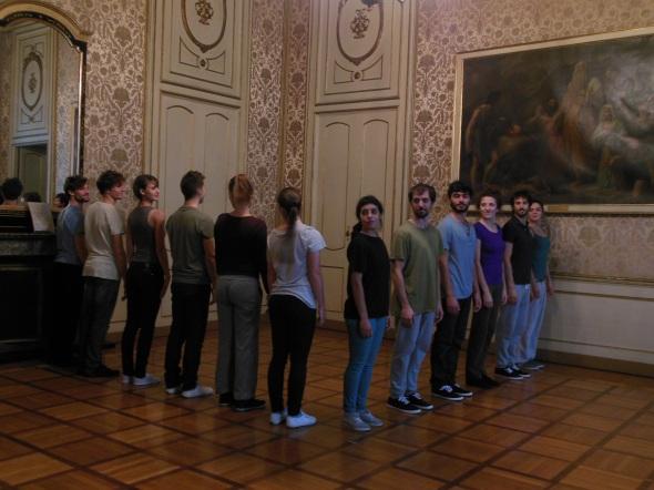 Revolving door, 2011   fault lines allora & calzadilla palazzo cusani fondazione trussardi massimiliano gioni labrouge
