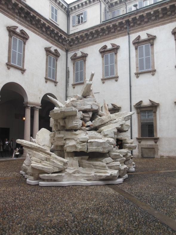 sediments, sentiments, figures of speech 2007 fault lines allora & calzadilla palazzo cusani fondazione trussardi massimiliano gioni labrouge