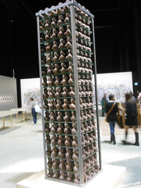 chocolate tower Dieter Roth Bjorn Roth Islands hangar Bicocca a cura di Vicente Todoli labrouge