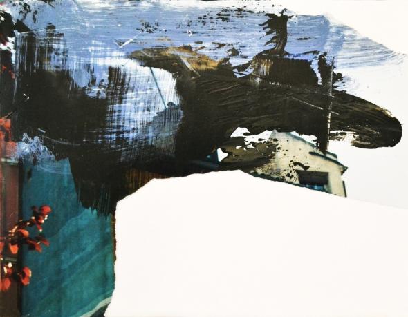 Iphighenéia #3, mixed media on paper, 10,2x13,2 cm, 2013