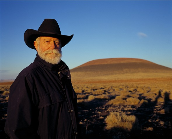 James Turrell Photograph by Florian Holzherr