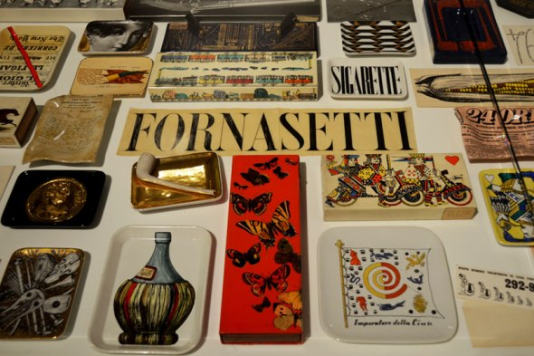 piero fornasetti, oggetti Triennale Milano labrouge