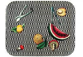 piero fornasetti, pattern frutta  Triennale Milano labrouge