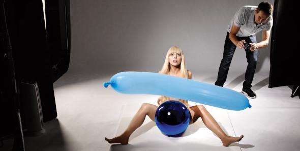 Art Pop lady gaga jekff koons collaborazione shooting  tra arte e discipline Lady Gaga e Jeff Koons labrouge