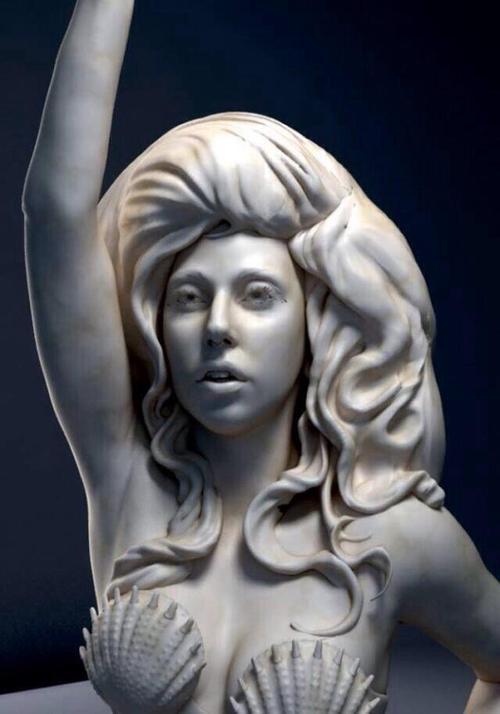 Art Pop lady gaga jekff koons statue  collaborazione tra arte e discipline Lady Gaga e Jeff Koons labrouge