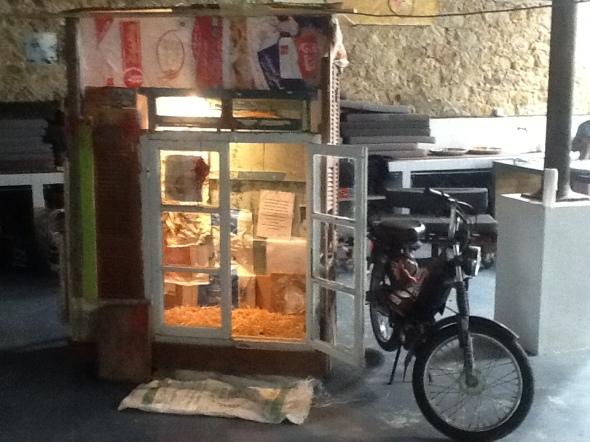 spazio Tabadoul 2 e mezzo Berra e Zinesi a Tangeri spazio Tabadoul scambio labrouge