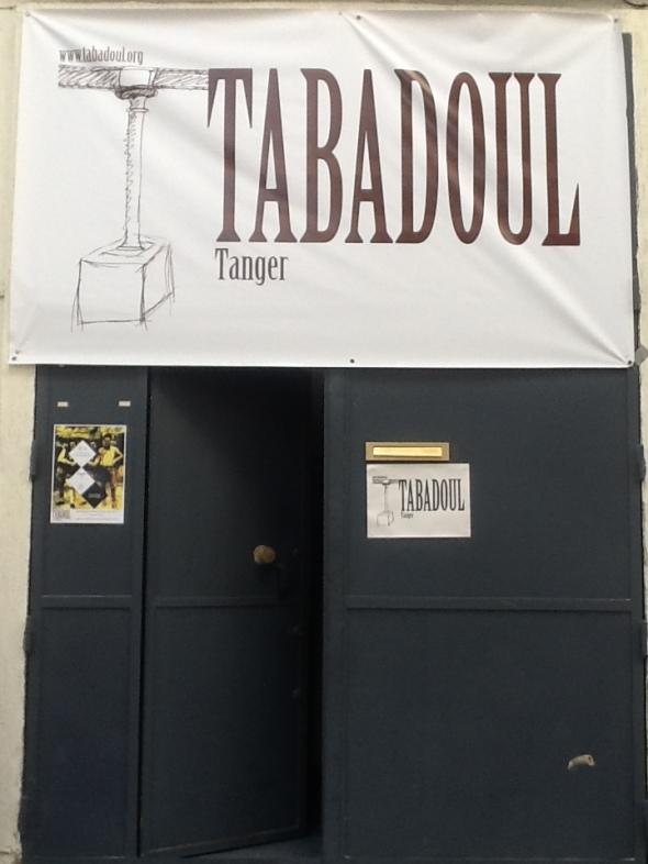 spazio Tabadoul 2 e mezzo in mostra Berra Zinesi a Tangeri spazio Tabadoul scambio labrouge