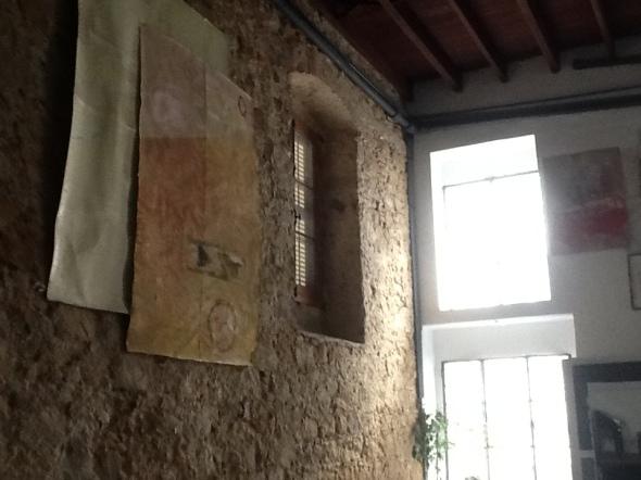 spazio Tabadoul 2 e mezzo, opera thomas berra,, in mostra Berra e Zinesi a Tangeri manifesto spazio Tabadoul scambio labrouge