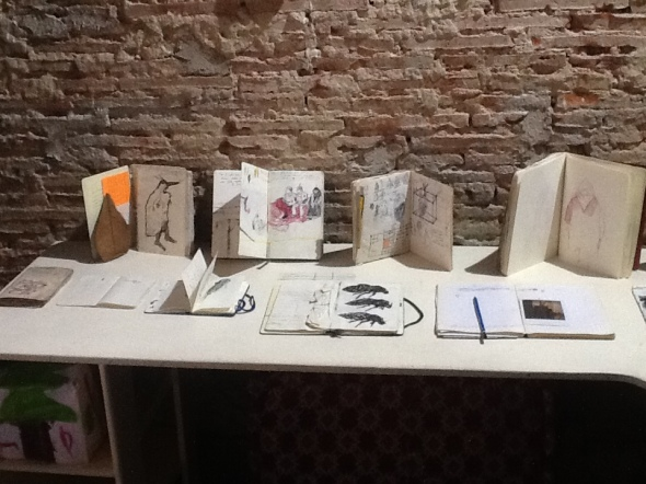 spazio Tabadoul 2 e mezzo,quaderni Zinesi, Berra e Zinesi a Tangeri spazio Tabadoul  labrouge