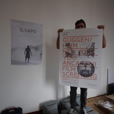 Yuri Ancarani nel suo studio a CareOf Fabbrica del Vapore a Milano intervista su Dogma labrouge