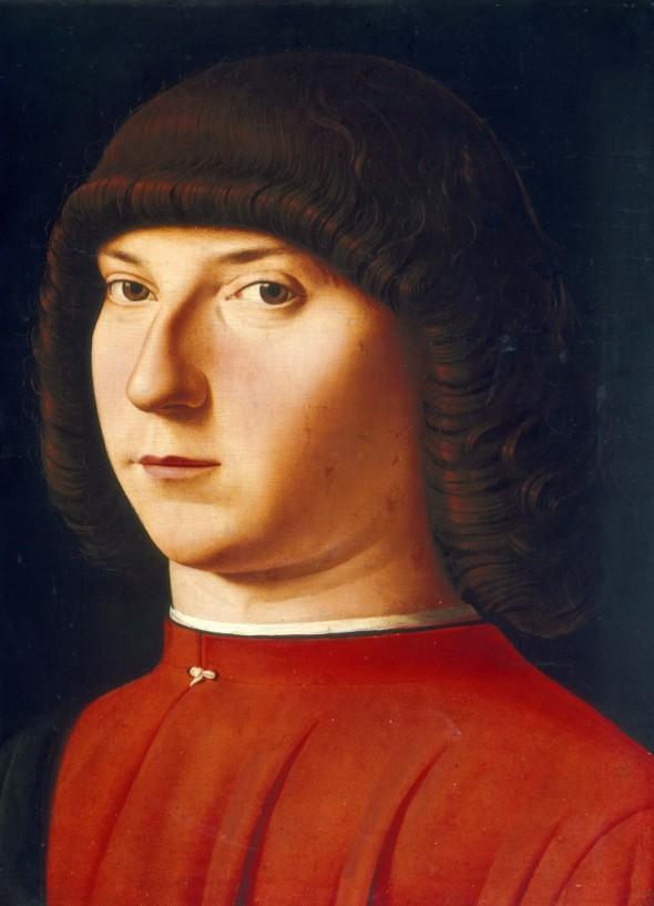 Antonello da Messina al Mart, Giovane uomo  labrouge