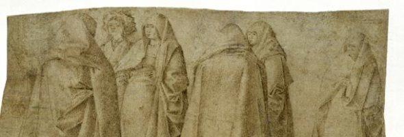 Antonello da Messina al Mart, gruppo di donne su una piazza  labrouge