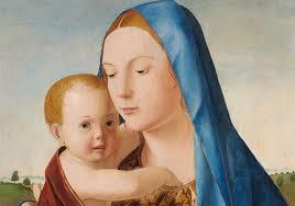 Antonello da Messina al Mart, Madonna con bambino labrouge