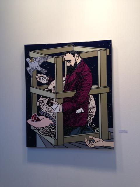 Arte fiera Bologna 2014 opere e fiera Arruzzo labrouge