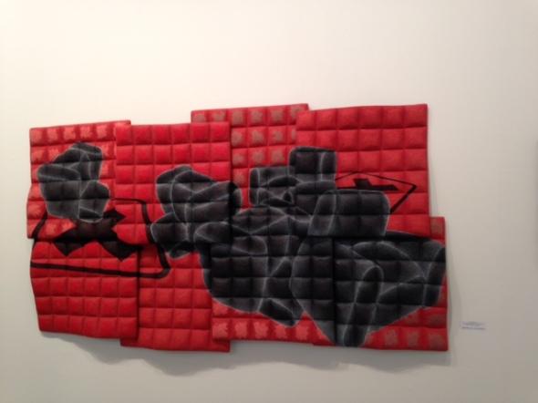 Arte fiera Bologna 2014 opere e fiera Perino e Vele  labrouge