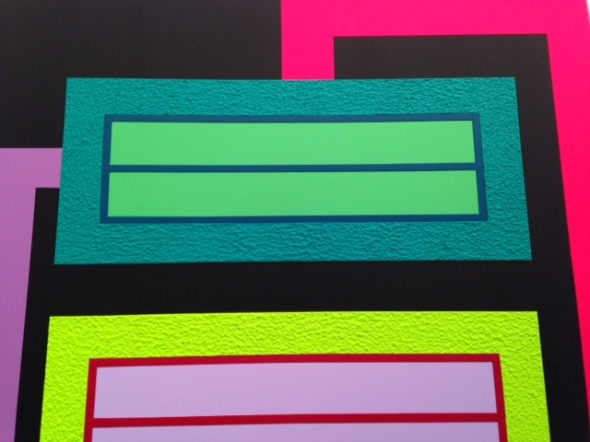 Arte fiera Bologna 2014 opere e fiera Peter Halley labrouge