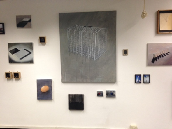 Arte fiera Bologna 2014 Set Up Linda Carrara @ Federico Rui 22 labrouge