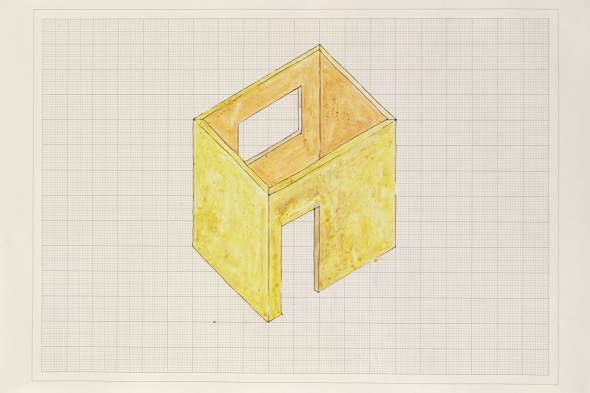 due inglesi al MaMbo Rachel Whiteread (1993) study for room bologna labrouge