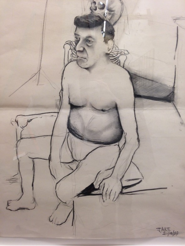 jake & dinos chapman @ serpentine drawings gallery london come and see labrouge