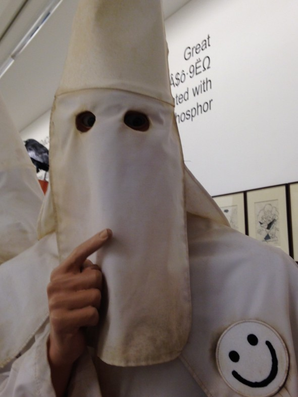 jake & dinos chapman @ serpentine gallery come and see kkk face labrouge