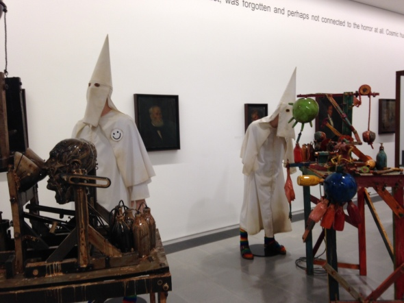 jake & dinos chapman @ serpentine gallery ku klux klan london come and see labrouge