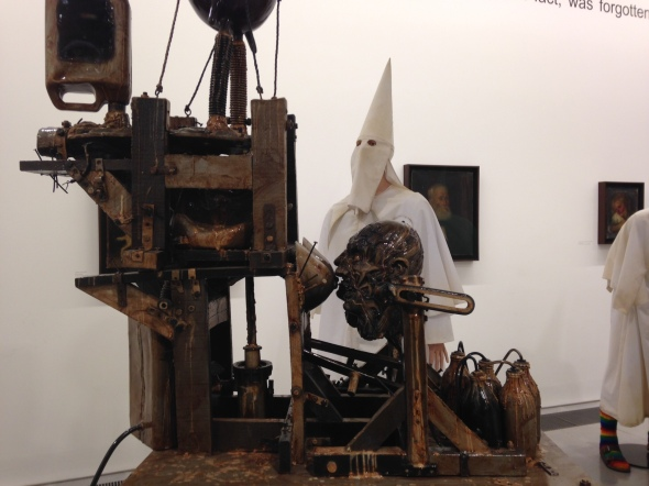 jake & dinos chapman @ serpentine gallery ku klux klan show london come and see labrouge