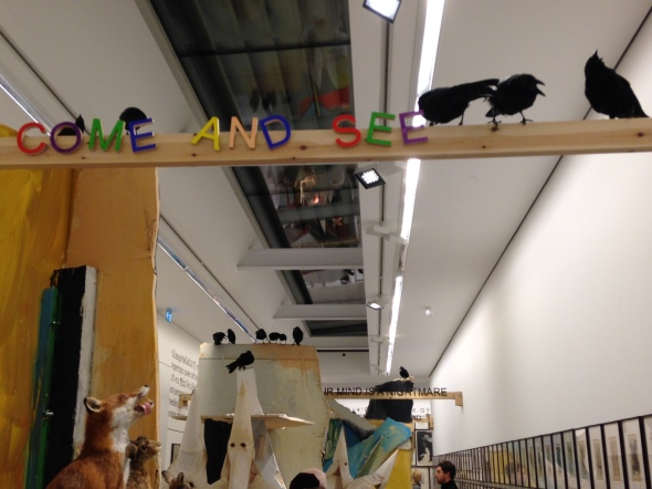 jake & dinos chapman @ serpentine gallery london birds come and see labrouge