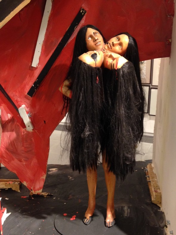 jake & dinos chapman @ serpentine gallery london girls sculpture  come and see labrouge