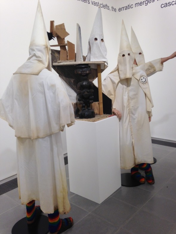 jake & dinos chapman @ serpentine gallery london kkk show come and see labrouge