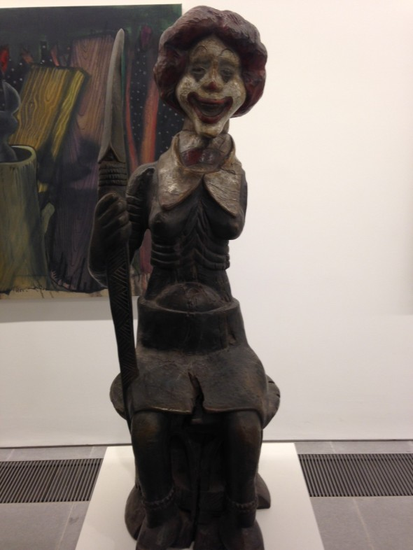 jake & dinos chapman @ serpentine gallery ronald mc donald london come and see labrouge