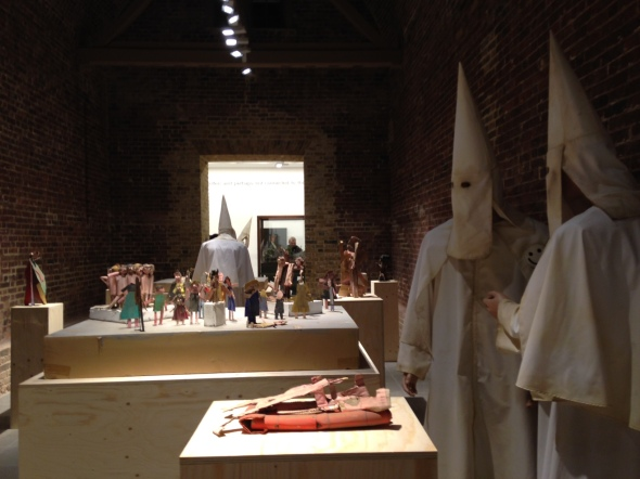 jake & dinos chapman @ serpentine gallery sculpture room come and see labrouge