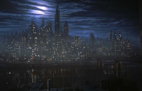 Pic 19 Batman, Gotham city