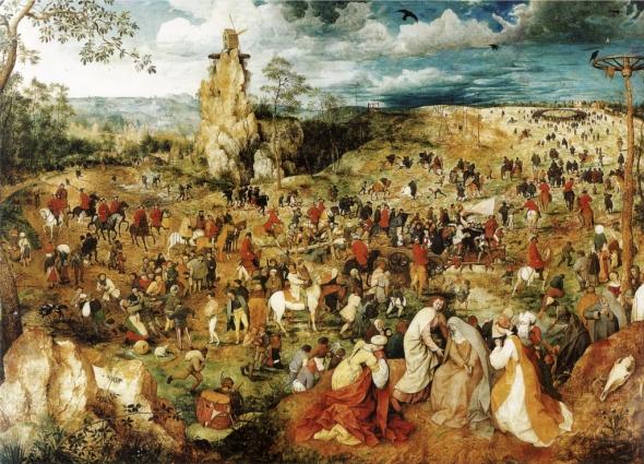 Pic 4 Bruegel, La salita al calvario,film i colori della passione