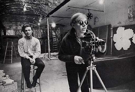 Pic 40 Andy Warhol e Gerard Malanga dietro la macchina da presa