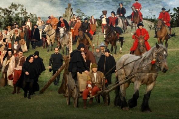 Pic 5 I colori della passione, ripresa da la salita al Calvario, Bruegel