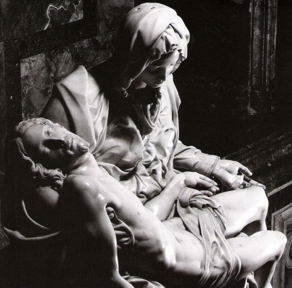 Pic 6 Michelangelo, Pietà (dettaglio)