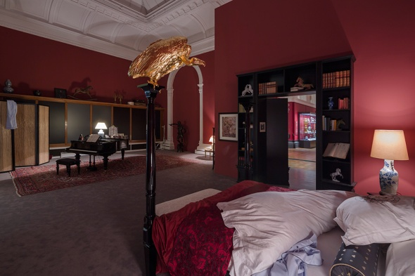 Tomorrow, Elmgreen & Dragset the installation, ph. Stephen White , at Victoria and Albert Museum, London Labrouge