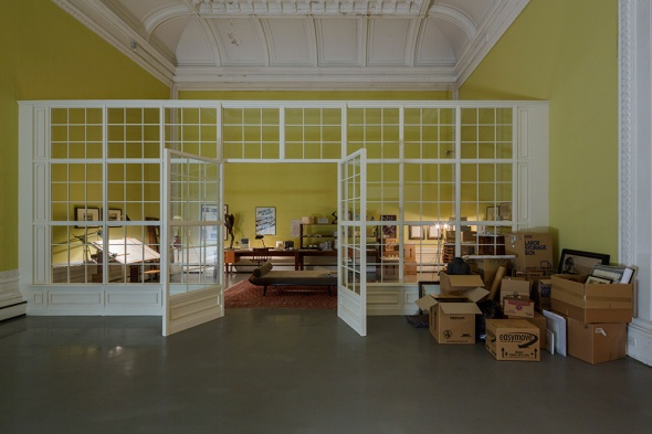 Tomorrow, Elmgreen & Dragset the installation, ph. White , Victoria and Albert Museum, London Labrouge
